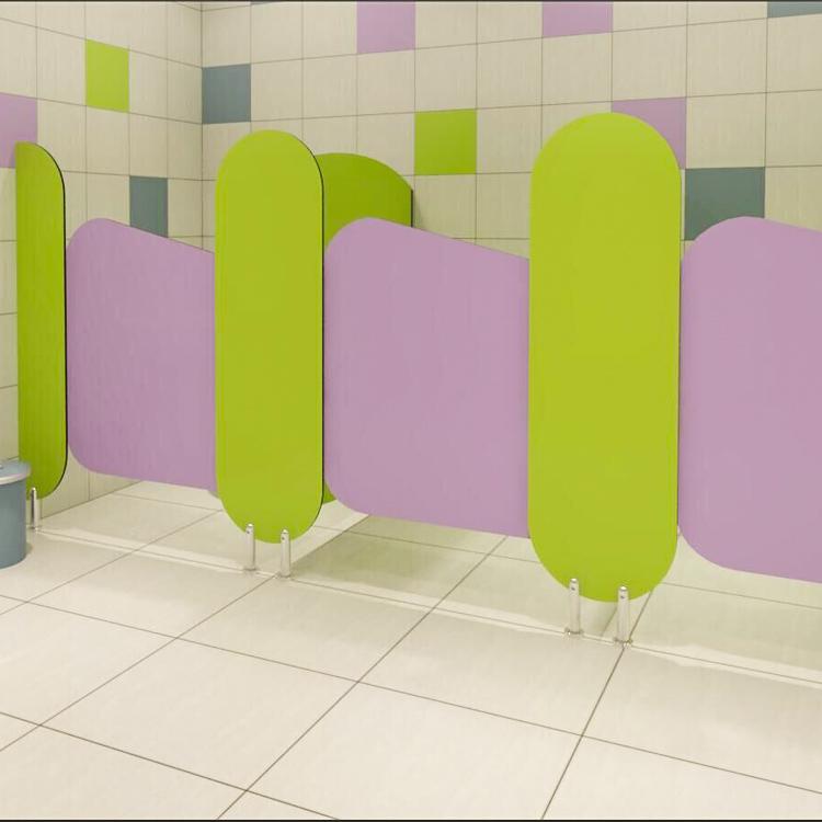 Kindergarten Children Toilet Partition
