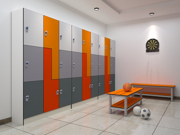 3Tiers Gym Lockers