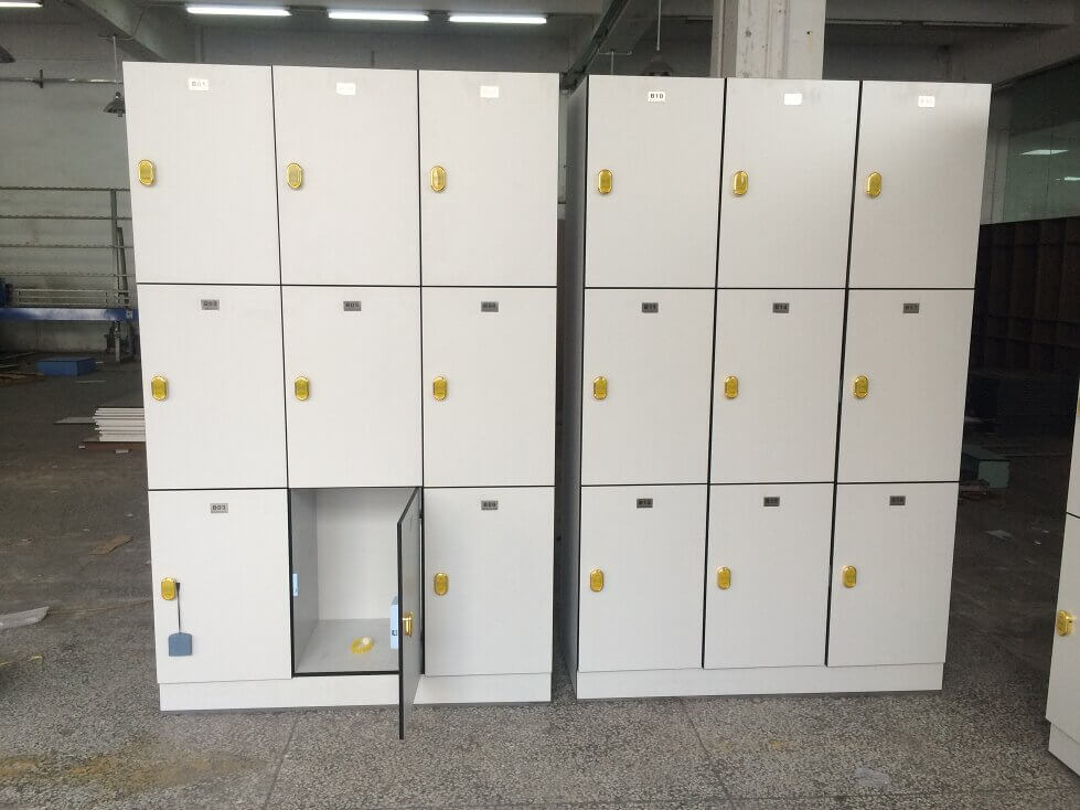 Light Grey School locker