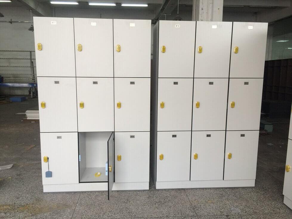 Light Grey School locker
