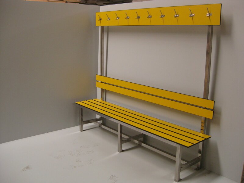 Benches with Single Backrest